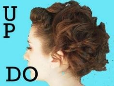 Sophisticated Pin Up Girl Hair Tutorial - 1950's Updo - Prom - Wedding Hair - Dance - Burlesque