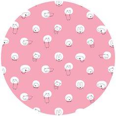 Monsters Spotlight Pink by Michele Brummer Everett for Cloud9 Organics