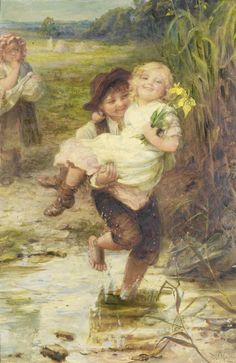 "Frederick Morgan - ""The young gallant"""