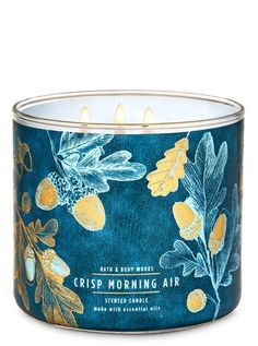 Crisp Morning Air 3-Wick Candle | Bath & Body Works