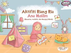 Front Cover Activity Child Book by Arini Hidayati