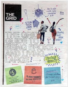 Canada's 'the grid' voted as a top 5 designed paper of 2012