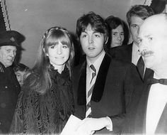 Jane Asher And The Beatles Wives At Parties