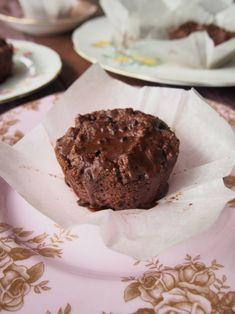Egg Free, Sweetener Free Chocolate Muffins
