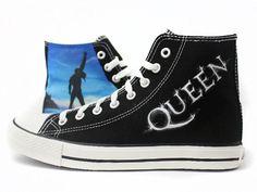Zapatillas Queen :: Freddie Mercury Tribute by www.pimpamcreations.com