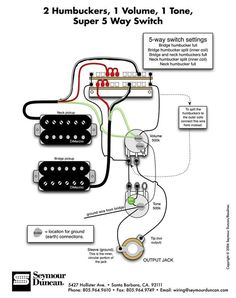 Tele Wiring Diagram, tapped with a 5 way switch