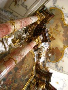Vierzehnheiligen - entirely Rococo interior. Breathtaking.