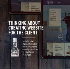 Finlandia Vodka by Kamil Kucharczyk, via Behance