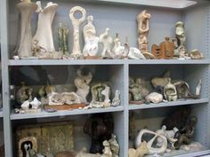 Henry Moore, Perry Green - Bourne Maquette studio