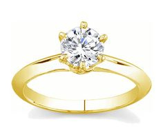 14K Knife Edge Solitaire Diamond Engagement Ring With 0.25ct Round Diamond  This is a 14K Yellow gold knife-edge solitaire engagement ring that radiates and shines. Its classic look of simplicity and elegance makes this ring as must have.   http://www.novori.com/engagement-ring-with-diamond.php?compProdID=62704  Item # 12430R1
