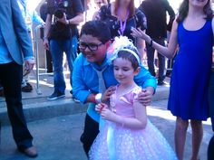 Brooke & Rico Rodriguez from Modern Family