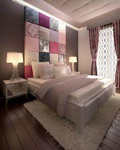 Wohnungsgestaltung  wohnungsgestaltung ideen schlafzimmer bett sessel pendelleuchten ...