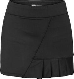 "Lija Ultimate Golf Skort Black with 4 14/"" ruffle | #Golf4Her"
