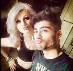 Perrie Edwards and Zayn Malik! is this not the cutest thing ever?!?! ZERRIE FOREVER!