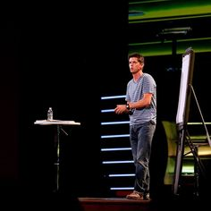 // Mike One of my favorites from this past Sunday.  @portcitychurch @mikeashcraft #portcitychurch #handlewithcare #church #lights #canon #canon_official
