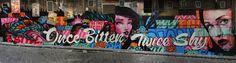 Rone x Sofles x Meggs x Wonderlust x Roachi x Numskull New Mural In Melbourne, Australia StreetArtNews
