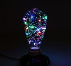 Kolekcia RGB EDISON Lava Lamp, Table Lamp, Led, Lighting, Home Decor, Table Lamps, Decoration Home, Room Decor, Lights