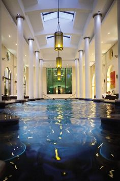 The spa at Terre Blanche Hotel & Spa in Provence, France.  Go to www.YourTravelVideos.com or just click on photo for home videos and much more on sites like this.
