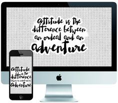 Be The Adventurous Type // iPhone   Desktop Background Freebie //