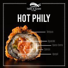 Publicidad Para Take A Sushi on Los Andes Portfolios Menu Sushi, Sushi Party, Sushi Take Out, Mochi, Sushi Night, Food Menu Design, Sushi Time, Sushi Design, Sushi Rolls