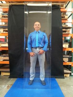 The Boss Man Himself ..Good Times ... Acrylic Displays ... Any size and quantity ...Planet Plexi 949-206-1183