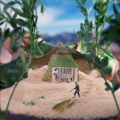 Miniature Worlds With Food | @fubiz