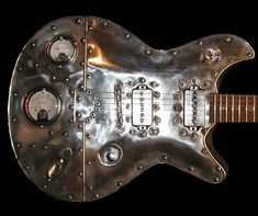 guitare steampunk