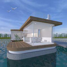 Woonboot ontwerp architect