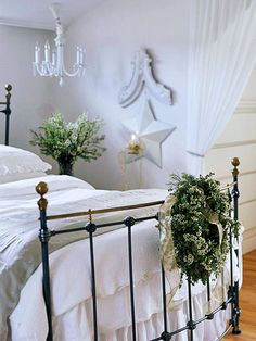 why not do some decoration in the bedroom ?