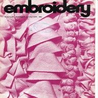 1974 Embroidery magazine Embroiderers Guild