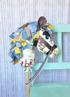 Hobby Horse Toy Pony Cowboy by Pigeon Pair Designs www.pigeonpairdesigns.etsy.com