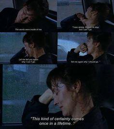 Bridges of Maddison county, makes me sad when I think of this film
