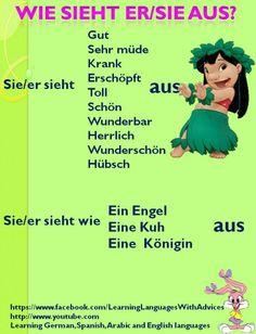 German Grammar, German Words, German Language Learning, Language Study, German Resources, Deutsch Language, Germany Language, Learn German, Help Teaching