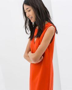 ZARA - WOMAN - LOW BACK DRESS