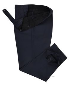 Dugdale Fine Worsted - Navy Plain dress pant from Luxire has a lot to speak of its subtlety with its suave tailoring and fit: http://custom.luxire.com/products/dugdale-navy-plain-8954  Features: Front slant pockets, extra long extended closure, 2-rear pockets and 2″ cuffs