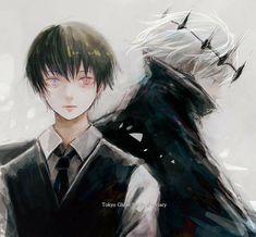 5 Anime, Anime Art, Anime Boys, Ken Kaneki Tokyo Ghoul, Deadman Wonderland, Good Manga, Touken Ranbu, Akira, Manga Art