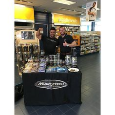 Big thank you to the Vitamin Shoppe team in Northridge CA for opening up your doors to MuscleTech for the day! Couldn't have done it without the squad @ifbb_santi and @taragouleos  #GetYourGoalOn #VitaminShoppe #MuscleTechArmy #FitExpo  #MuscleTech #TeamMuscleTech #OnAMission #Mission1 #Mission1Bar #fitness #athlete #exercise #fitfam #gym #supplements #iifym #muscle #training #gains  #gainz  #weightloss #bodybuilding #physique #sale #deal #discount #free #hydroxycut #crossfit #powerlifting…