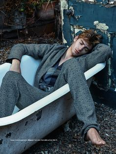 Benjamin Allen is a sleepwalker in this editorial for the latest issue of GQ Turkey, shot by Greg Swales and styled by Kaner Kivanc.