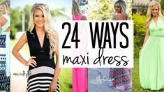 99c11ae1000 How To Wear A Convertible Maxi Dress  24 Amazing Ways!