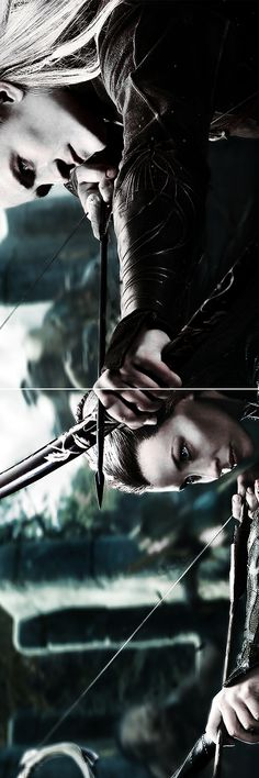 """Tauriel: """"It is our fight. It will not end here. With every victory this evil will grow. If your father has his way, we will do nothing. We will hide within our walls, live our lives away from the light and let darkness descend. Are we are not part of this world? Tell me, Mellon, when did we let evil become stronger than us?"""" #thehobbit"""