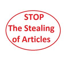 How to Prevent Someone from Stealing your Article