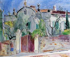 Hans Purrmann - Basque House in Florence (1939)
