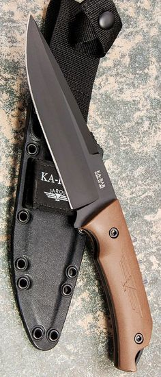 Ka-Bar Jarosz Turok Fixed Blade Knife