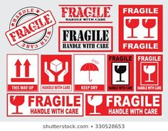 Packaging Fragile Stickers Handle Care This Stock Vector (Royalty Free) 330528653 Tumblr Phone Case, Diy Phone Case, Fragile Label, Office Wallpaper, Packaging Stickers, Phone Stickers, Creative Tattoos, Aesthetic Stickers, Vintage Labels