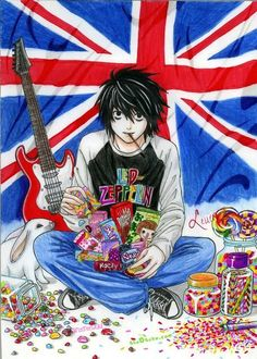 I suppose Beyond would be in the picture too, sitting on his bed, both listening to trashy punk. Why not?