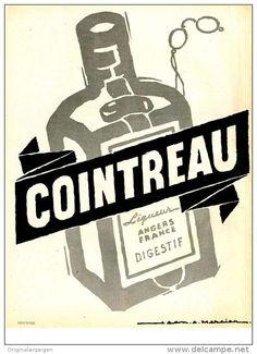 Original-Anzeige / Publicité 1957 - (en français) COINTREAU - ca. 240 x 320 mm