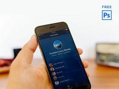 Boat Crew - Free iPhone Mockup PSD par Aztech Design / 13