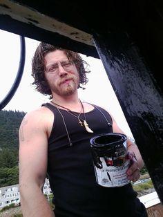 Joshua Bam Bam Brown, Hey Baby. Never a dull moment in the Alaskan Bush.