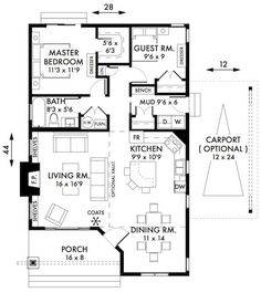 Plan No.595009 House Plans by WestHomePlanners.com