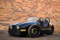 Vanderhall Edison2, un coche eléctrico de 3 ruedas con autonomía superior a los 320 km.